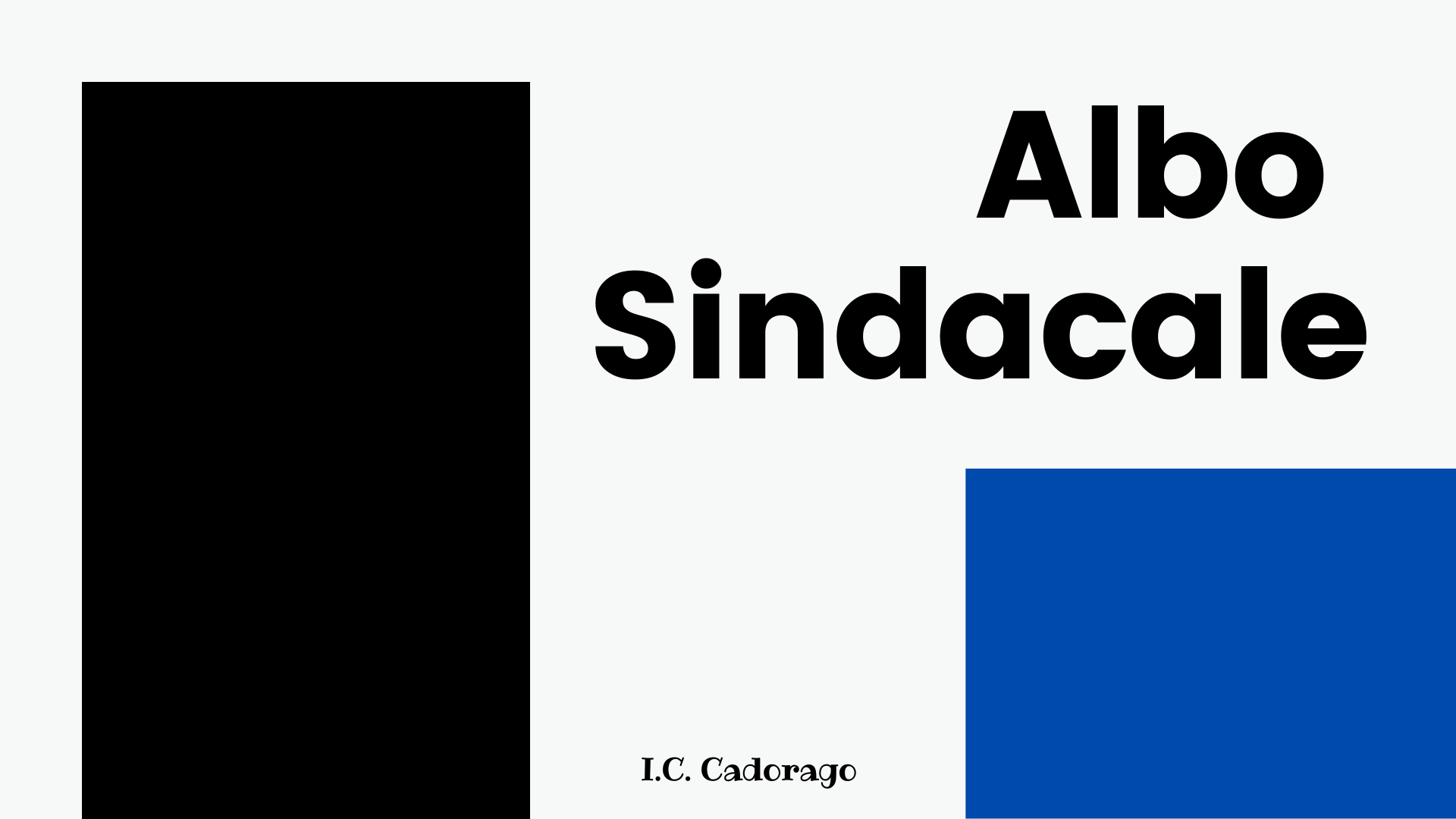 Albo sindacale sito